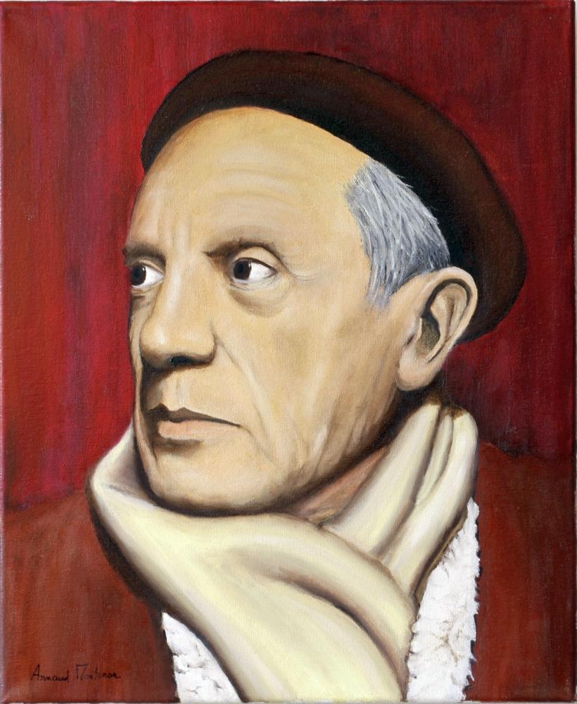 Pablo Picasso by arnaud-montenon